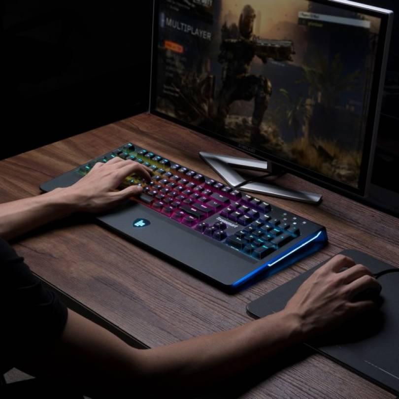 Механічна клавіатура Tronsmart TK09R с RGB подсветкой